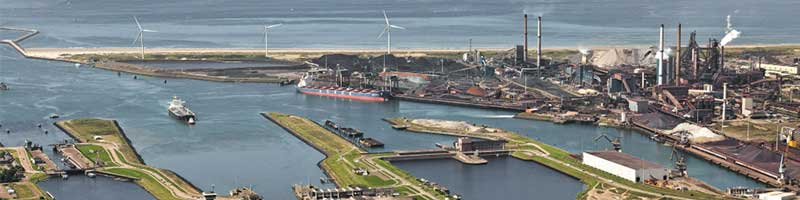 Locks of IJmuiden bicycle tour
