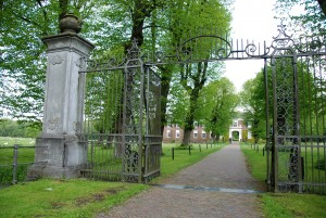 Kasteel marquette hek