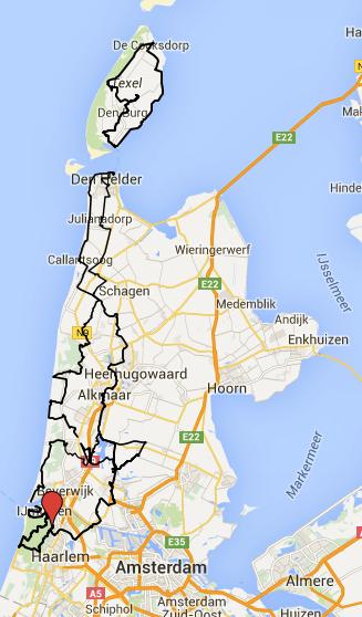 fietsvakantie noord holland